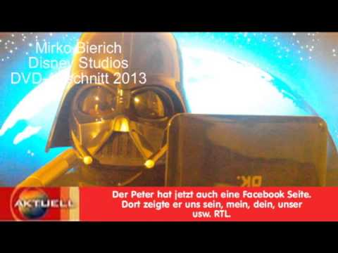 Darth Vader alias Mirko Bierich DVD - Walt Disney