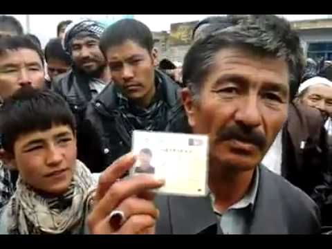 Another video of fraud in 2014 elections not enough vote ballots in tajik and hazara areas