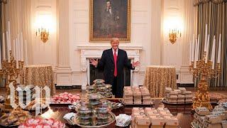 Trump's love of fast food, explained - WASHINGTONPOST