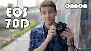 Canon EOS 70D: обзор полупрофессионального фотоаппарата