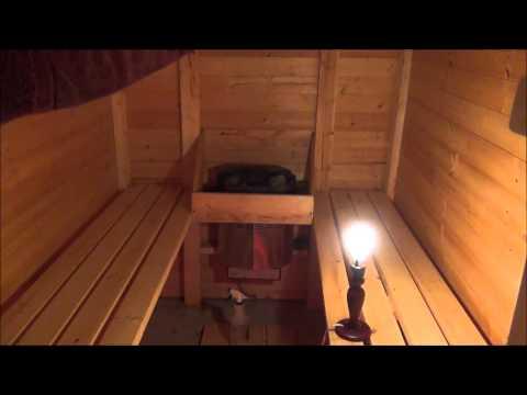 Как построить баню своими руками в гараже 13