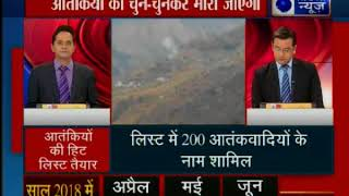 अब होगा आतंकियों का सफाया, कश्मीर में 200 आतंकियों की नयी हिट लिस्ट तैयार - ITVNEWSINDIA