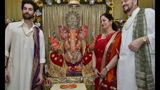 Neil Nitin Mukesh brings home Lord Ganpati - BOLLYWOODCOUNTRY