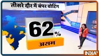 Lok Sabha Elections 2019: Phase 3 में 117 Constituencies के लिए Bumper Voting - INDIATV
