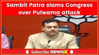Pulwama Politics: BJP slams Rahul Gandhi over targeting PM Narendra Modi - NEWSXLIVE