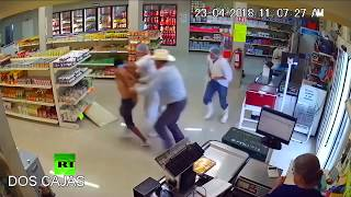 Hero 'cowboy' takes down armed robber with bare hands - RUSSIATODAY