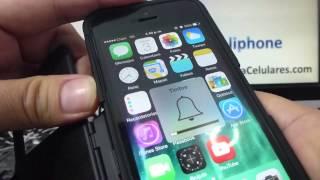 como silenciar la camara del iphone 5S 5C 5 4 iOS 7 espa?ol Channeliphone