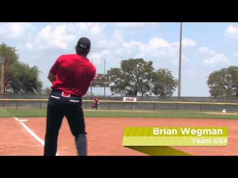Brian Wegman Shows Off The 2012 Easton Stealth Speed XL Slow Pitch Bat: SSR4 - JustBats.com Video