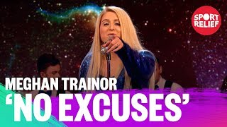 Meghan Trainor performs No Excuses - Sport Relief 2018 - BBC - BBC