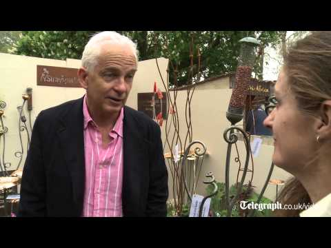 David Gower: 'I just love Chelsea Flower Show'