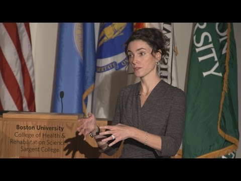 Sargent College 9th Annual Meredith E. Drench Lecture presented by Dr. Alyson J. McGregor