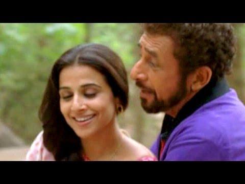 Naseeruddin Shah and Vidya Balan romantic scene - Ishqiya Deleted Scene