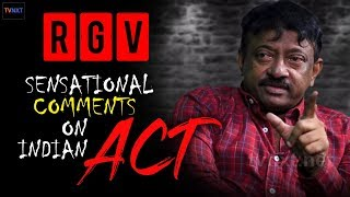 RGV on Indian Govt ACT | RGV Sensational Comments on CM | Ramuism Reloaded | TVNXT Hotshot - MUSTHMASALA