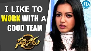 I Like To Work With A Good Team - Catherine Tresa || Talking Movies with iDream - IDREAMMOVIES