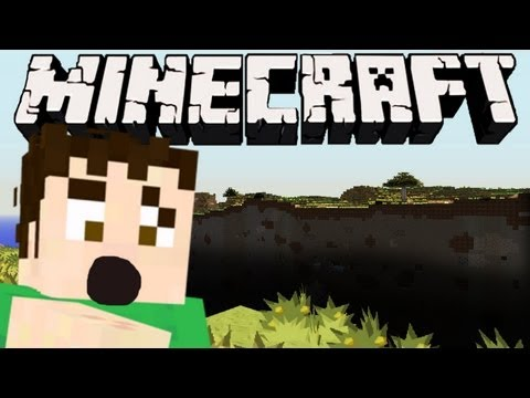Minecraft - HUGE GLITCH CANYON