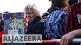 70-year-old anti-fascist defaces neo-Nazi art in Germany - ALJAZEERAENGLISH