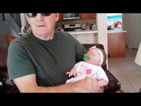 Getting a Man's Reaction to a Full Body Silicone Baby Doll!!