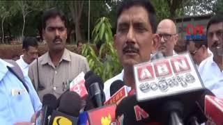 AP DGP RP Thakur Plants Sapling Mangalagiri  | Guntur Dist | CVR NEWS - CVRNEWSOFFICIAL