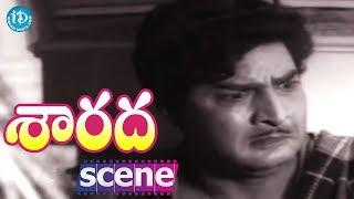 Sarada Movie Scenes - Kaikala Satyanarayana Meets Shobhan Babu || Sharada || Rao Gopal Rao - IDREAMMOVIES