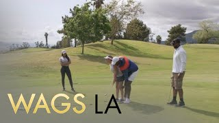 Michelle Quick & Autumn Ajirotutu Hilariously Try Golfing - EENTERTAINMENT