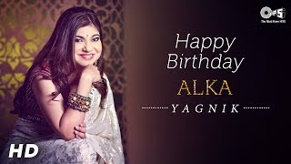 Alka Yagnik Birthday Special Interview | Best Of Alka Yagnik | Ghulam | Kismat Konnection | Taal - TIPSMUSIC