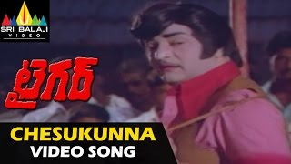 Tiger Telugu Songs | Chesukunna Vallaki Video Song | NTR, Rajinikanth | Sri Balaji Video - SRIBALAJIMOVIES
