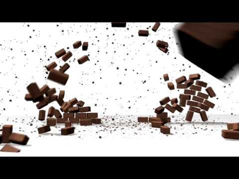 Brick Wall Explosion 3ds Max Reactor