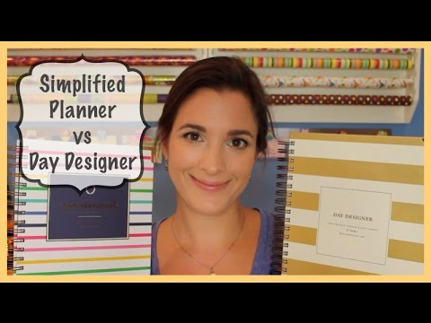 Simplified Planner vs Day Designer: Planner Comparison & Review