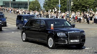 Putin's Limo: First public appearance of Aurus outside Russia - RUSSIATODAY