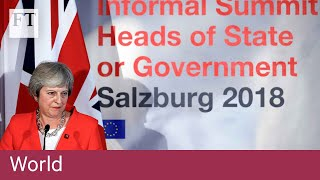 UK's economic plan for Brexit 'will not work': Tusk - FINANCIALTIMESVIDEOS