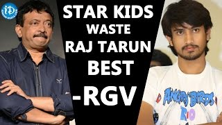 Ram Gopal Varma Controversial Comments On Star Kids || RGV Tweets - IDREAMMOVIES
