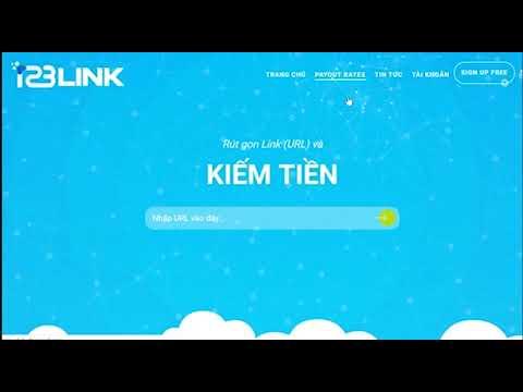 Hướng dẫn chi tiết rút gọn link kiếm tiền với 123Link toàn tập [Phần 02]