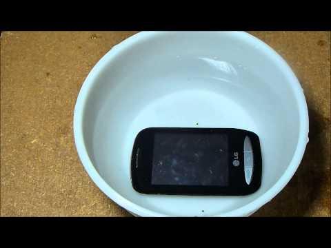 LG 800G Water Damage Test