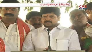 AP Minister Kollu Ravindra Visits Durgamma Temple in Vijayawada | CVR NEWS - CVRNEWSOFFICIAL
