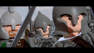 LEGO Lord of the Rings Walkthrough Part 17 - The Black Gate