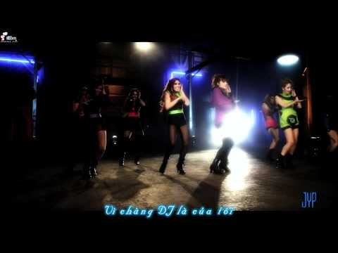 [Vietsub] Wonder Girls - The DJ Is Mine