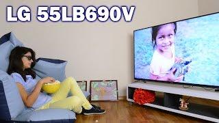 LG 55LB690V: обзор телевизора