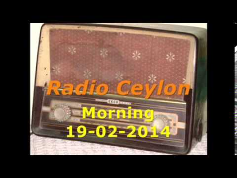 Radio Ceylon 19-02-2014~Wednesday Morning~02 Purani Filmon Ka Sangeet
