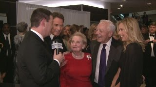 Bob Schieffer Hits Red Carpet With Two Madam Secretaries - BLOOMBERG