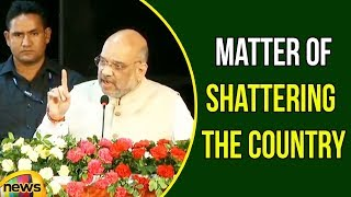 Amit Shah says Matter of Shattering the Country, Behind Every voice | BJP Latest News | Mango News - MANGONEWS
