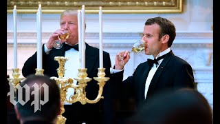 Macron at state dinner: 'Thank you for honoring France' - WASHINGTONPOST