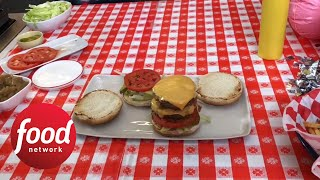 How to Make Animal-Style Burgers Part 2 - FOODNETWORKTV
