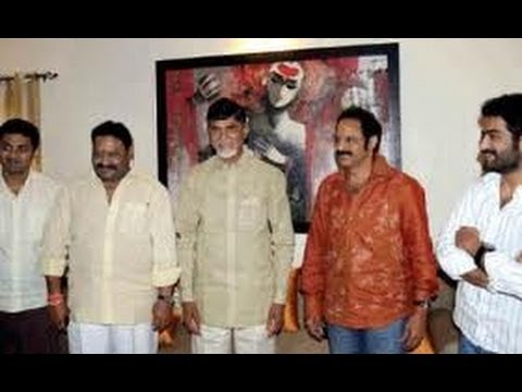 chandrababu naidu meeting with balakrishna family  -TV5