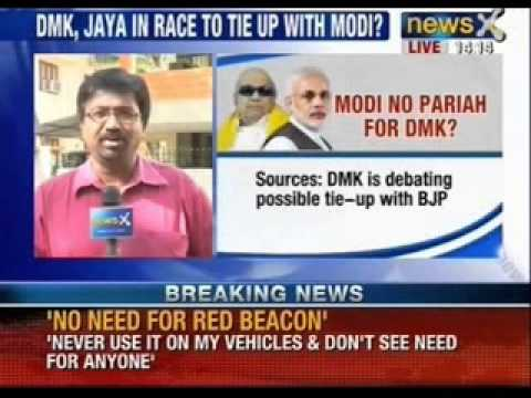 DMK is looking at a possibility of tie-up with BJP - NewsX