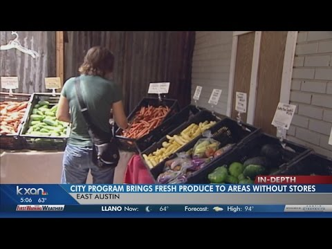 Mobile farmer's markets bring local produce to rural neighborhoods