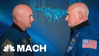 Astronaut Scott Kelly's DNA Changed After A Year In Space Mach | NBC News - NBCNEWS