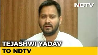 BJP Blocking Proper Probe In Facebook Scandal, Says Tejashwi Yadav - NDTV