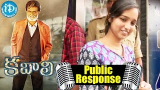 Rajinikanth's Kabali Movie Public Talk @ Hyderabad RTC X Roads || Radhika Apte - IDREAMMOVIES