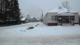 А в Сурске зима!