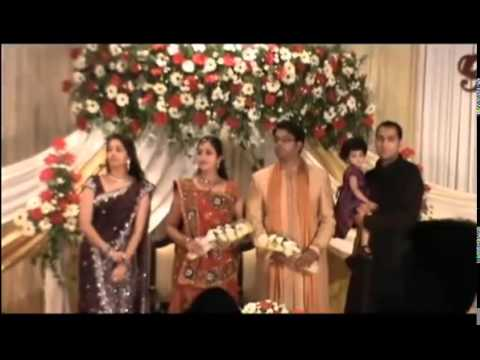 Actress GOPIKA'S marriage reception with BHAVANA